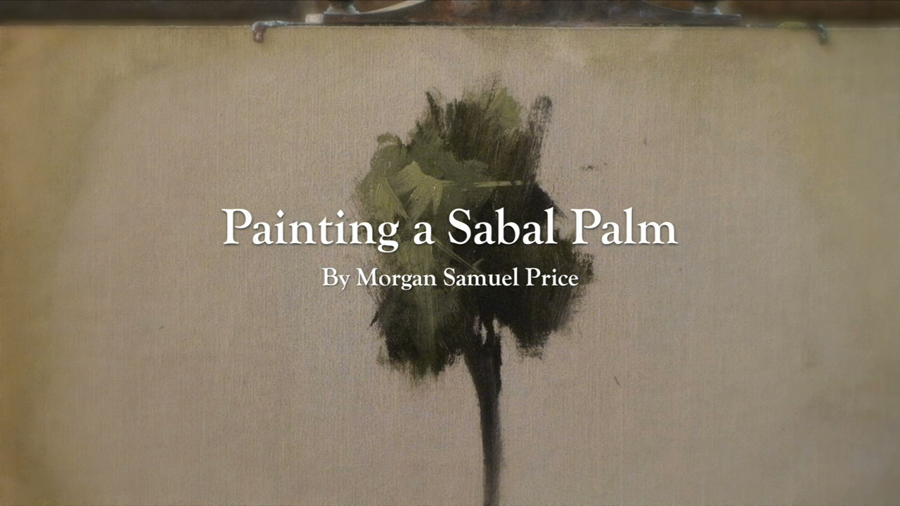 Painting Sable Palm